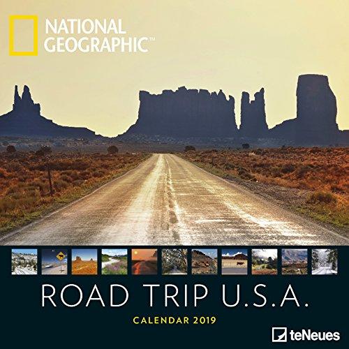 Road Trip USA 2019: Wandkalender National Geographic