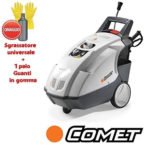 Comet Scoot 150 Classic - Hidrolimpiadora profesional de agua caliente, 90 °C, 150 bar, 2,7 kW, 2700 W