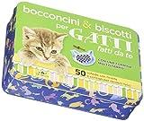 Bocconcini & biscotti per gatti fatti da te. 50 schede con ricette e consigli per renderli felici. Con gadget