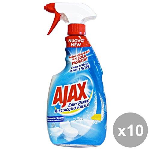 Ajax Set 10 Badezimmer Easy RISCIACqua Easy 600 ml Waschmittel Haus
