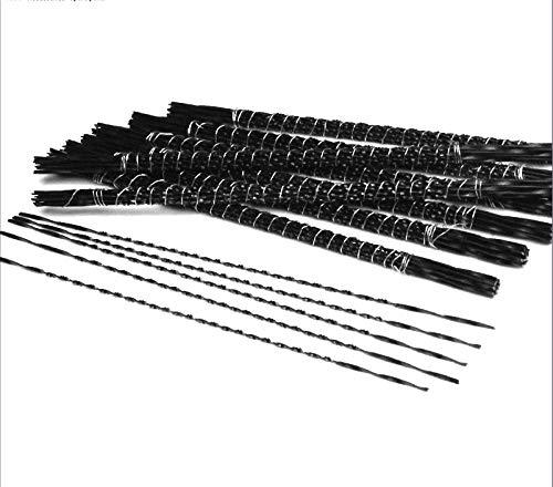NO LOGO FMN-HOME, 48 Stück 130 mm Spiral-Sägeblätter für Handlaubsägeblätter...