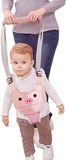 ndador Arnes Bebe, Arnés Para Caminar Para Bebé,Seguridad Asistente Niños Andador Anti Perdido Correa Proposito Doble Para Bebés De 6 A 27 Meses(rosado)
