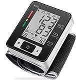 MMIZOO Digital Blood Pressure Monitors Fully Automatic Wrist Blood Pressure Monitor with Wristband Automatic Wrist Electronic Blood Pressure Monitor Perfect for Health Monitoring(MZW133)