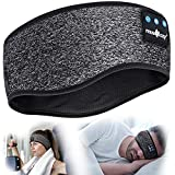 Schlafkopfhörer,Bluetooth 5.2 Kopfband Kopfhörer Drahtlose Musik Schlafende...