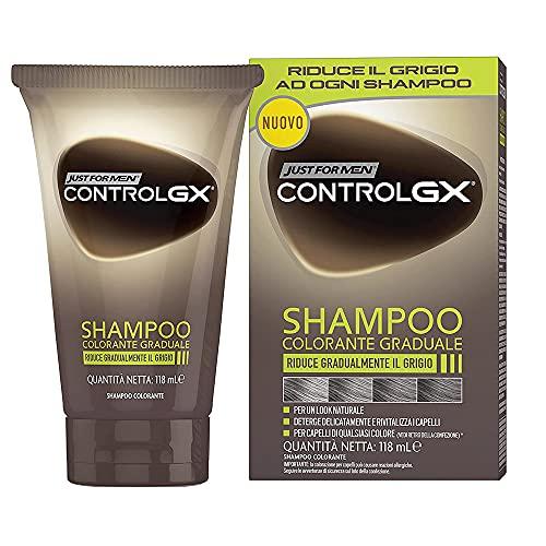 Just For Men Control GX - Champú, 147 ml, 3 unidades
