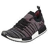 adidas NMD_R1 STLT PK, Zapatillas para Hombre, Negro (Core Black/Grey Four/Solar Pink 0), 44 2/3 EU