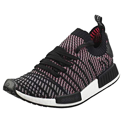 adidas NMD_R1 STLT PK, Zapatillas Hombre, Negro (Core Black/Grey Four/Solar Pink 0), 42 EU