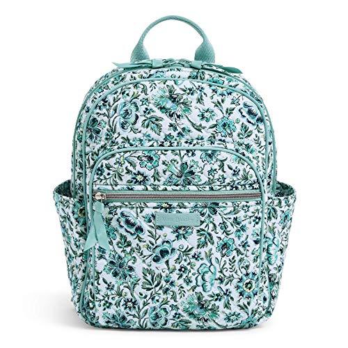 Vera Bradley Signature Cotton Small Backpack, Cloud Vine