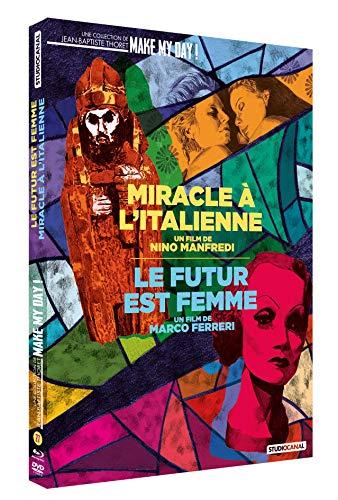 Coffret 2 films : miracle à l'italienne ; le futur est femme