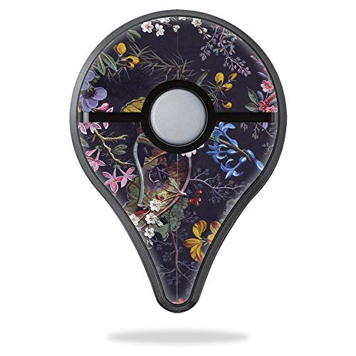 MightySkins Skin Compatible with Pokemon Go Plus - Midnight Blossom | Protective, Durable, and Unique Vinyl Decal wrap Cover | Easy to Apply, Remove, and Change Styles | Made in The USA