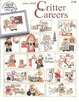 Cross Stitch Critter Careers 0881959057 Book Cover