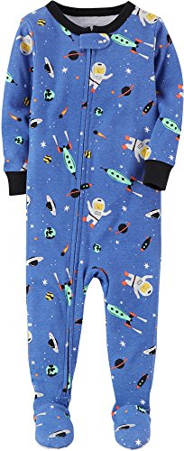 Carter's Baby Boys' 12M-4T One Piece Space Snug Fit Cotton Pajamas 12 Months