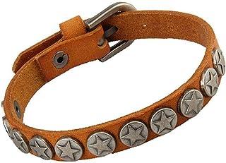 Flyme Vintage Unisex Pentagram Bracelets Adjustable Handmade Braided Bracelets Hemp Rope Wristbands Bracelet Wrist