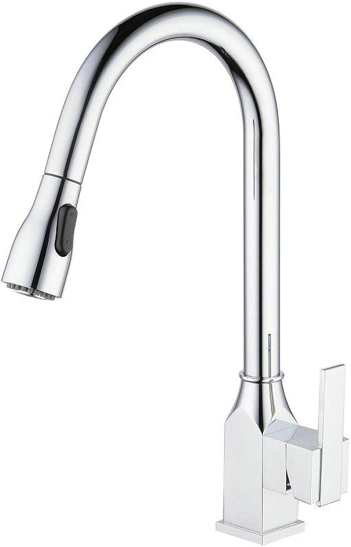 Küchenspüle Wasserhahn Niederdruck Kupfer Teleskop Pull Spüle Wasserhahn