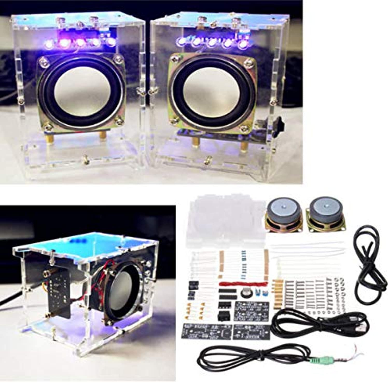Kit Speaker Amplifier Mini USB 5V 70x75x103mm SCM Kit