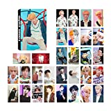 ALTcompluser Bangtan Boys Lomo Photocard/Set Fotocarte, Jungkook/Jimin/V/Suga/Jin/J-Hope/Rap Monster Lomo Cards/Karten, migliore regalo per Army, carta, Love Yourself ? Answer, JIN