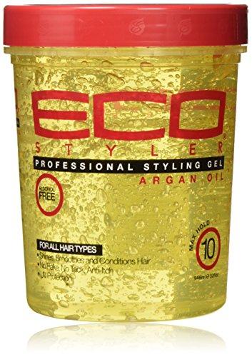 ECOCO EcoStyler Styling Gel, Moroccan Argan Oil, 32 oz by ECOCO