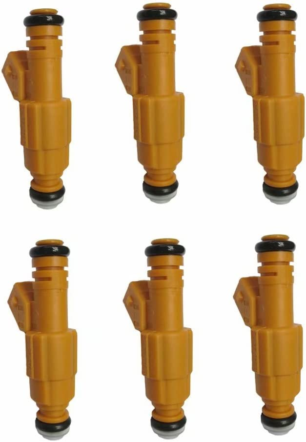 Set of 6 Fuel Injectors For Mercury 5.0L Cheap Popular product mail order shopping 4.6L Replace Ford 6.8L
