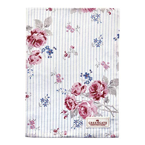 GreenGate Tea Towel Elisabeth White