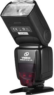 Andoer Camera Flash Speedlite TTL Speedlight Built-in 2.4G Wireless Trigger System 1/8000s High-Speed Sync with LCD Displa...