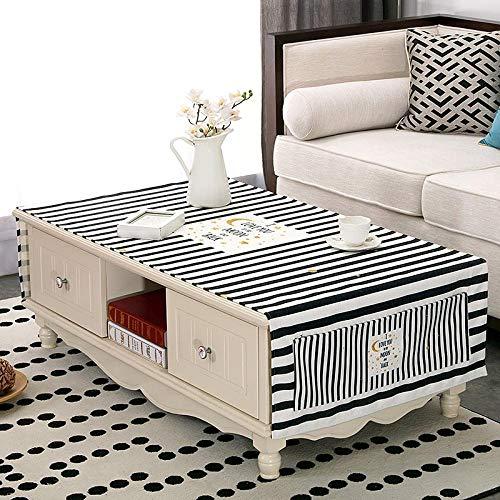 Creek Ywh tafelkleden voor terrasmeubels, tafelkleden voor feestjes, Nordic Ins salontafel waterdicht woonkamer stof tafelkleed tv-kast rechthoekig IKEA