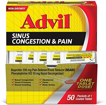 Top 10 Best advil sinus congestion and pain Reviews