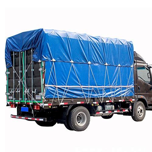 LSXIAO Lona Resistente, Lona De Camión, 550GSM Revestimiento De Lona Impermeable Retardante De Llama Resistencia Al Desgarro Adecuado para Carpas Al Aire Libre, Techo, Camión De La Basura