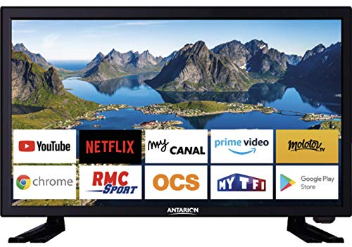 Anarion TV LED 21,5 Ultra HD + Android TV - 12 V/220 V - Campeggio Car