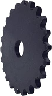 "KOVPT # 35 Roller Chain Plate Sprocket 26 Teeth 1/2"" Bore Pith 3/8"" Carbon Steel Black 1PCS"