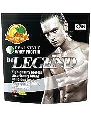 [Amazon限定ブランド] Real Nutrition ビーレジェンド ホエイプロテイン 南国パイン風味【1kg】(WPC)