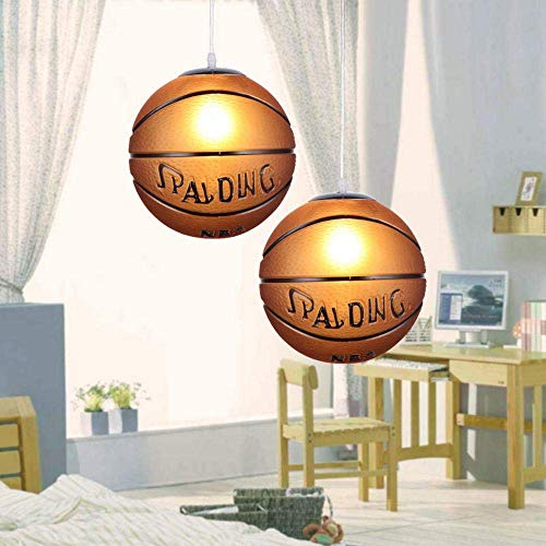 miwaimao Candelabro de cristal moderno y simple, decoración de habitación infantil creativa lámpara de techo, ideal para dormitorio, sala de estar, comedor, fútbol
