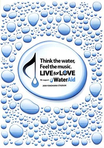 [コンサートパンフレット]LIVE for LOVE We support Water Aid/矢沢永吉 氷室京介 VAMPS AAA TRF 伊藤由奈 他
