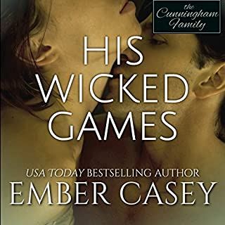 His Wicked Games audiobook cover art