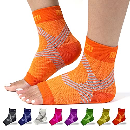 Ankle Support Brace Foot Brace for Injured Foot Brace for Achilles Tendonitis Ankle Braces for Men Achilles Tendonitis Relief Peroneal Tendonitis Brace Ace Ankle Brace Foot Support Orange S-M