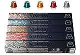 Nespresso World Explorations Pack: ENVIVO LUNGO, FORTISSIO LUNGO, LINIZIO LUNGO, SHANGHAI LUNGO, BUENOS AIRES LUNGO, 50 cápsulas