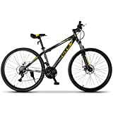 Murtisol Mountain Bike 27.5 inches Hybrid Bicycle with 21...
