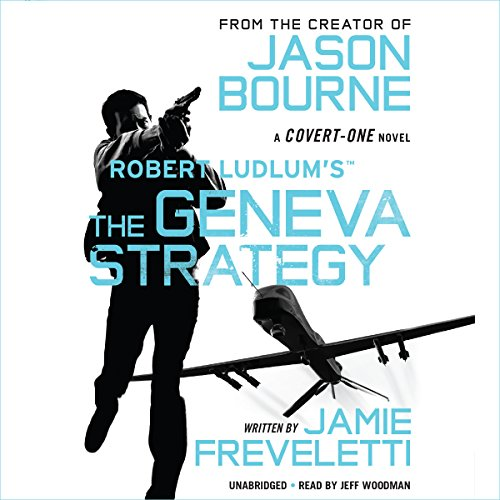 Robert Ludlum's The Geneva Strategy audiobook cover art