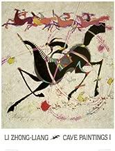 Cave Paintings by Li Zhong-Liang. Fine Art Print Poster (27 x 35)