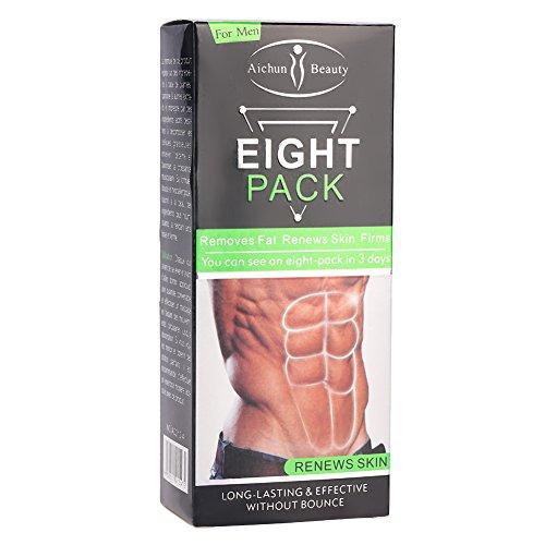 170g Fatburner, Unisex Abnehmen Creme Fettverbrennung Muskelbauch Anti Cellulite Cremes Straffen Sie die Muskeln