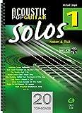 Acoustic Pop Guitar Solos 1 - Noten & TAB - easy/medium