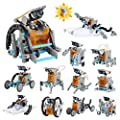 Lucky Doug Solar Robot Kit 12-in-1 Science STEM Robot Kit Toys for Kids Aged 8-12 and Older, Science Building Set Gifts for Boys Girls Students Teens, Educational DIY Assembly Kit with Solar Powered by Lucky Doug