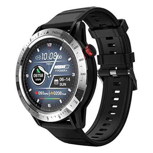 YDK Smart Watch, 30M Impermeable IP68 Sports Watch Smart Watch FT03 1.3 Pulgadas Pantalla táctil Completa Reloj de la Pantalla del corazón Rastreador de Estado SMARTWATCK Hombre Mujeres Mujeres,A