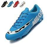 LIANNAO Zapatos de Fútbol Hombre Spike Aire Libre Profesionales Atletismo Training Botas de Fútbol...