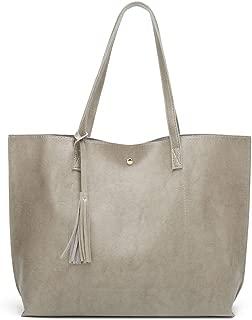 Bageek Women Tote Bag Minimalist Tassel Large Capacity Tote Handbag Top Handle Bag for Travel