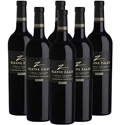 Kleine Zalze - Vineyard Selection - Cabernet Sauvignon - Südafrikanischer Rotwein - Trocken - 6 Flaschen á 0,75L