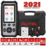 AUTEL OBD2 Scanner MD806 Pro 2021 Newest Code Reader Upgraded Version of MD802/MD808 with All System Diagnoses, 7 Special Features, Plus DTC Lookup, Data Playback & Print for DIYers and Mechanics