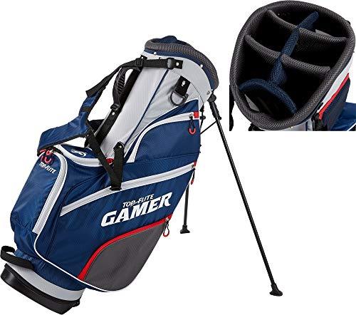 Top-Flite 2019 Gamer Golf Stand Bag-Gray/Navy