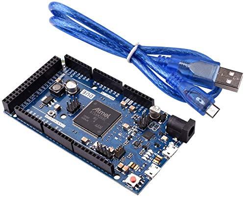 ARCELIDue 2012 R3 Board SAM3X8E Módulo de la Placa de Control Arm Cortex-M3 de 32 bits para Arduino