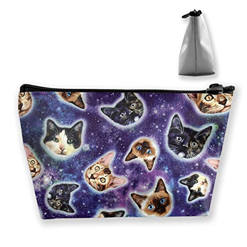 Cozy Storage Bag Galaxy Cats Cat Heads Receive Package