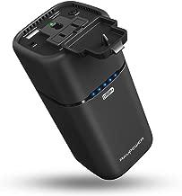 RAVPower ポータブル電源 20100mAh/65W 超大容量 モバイルバッテリー( AC出力 + USB ポート + USB-C )予備電源 iPhone/MacBook/ノートPC 等対応(緊急・災害時バックアップ用電源) RP-PB054 (黒)